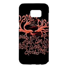Panic At The Disco   Lying Is The Most Fun A Girl Have Without Taking Her Clothes Samsung Galaxy S7 Edge Hardshell Case by Samandel