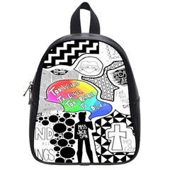Panic ! At The Disco School Bag (small) by Samandel