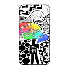 Panic ! At The Disco Apple Iphone 4/4s Seamless Case (black) by Samandel