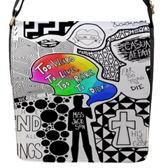 Panic ! At The Disco Flap Messenger Bag (s)