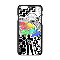 Panic ! At The Disco Apple Iphone 6/6s Black Enamel Case by Samandel