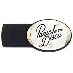 Panic At The Disco Beautifull Floral Usb Flash Drive Oval (2 Gb)