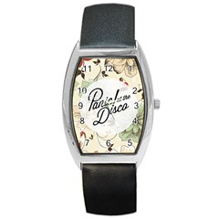 Panic At The Disco Beautifull Floral Barrel Style Metal Watch by Samandel