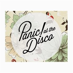 Panic At The Disco Beautifull Floral Small Glasses Cloth (2 Side) by Samandel