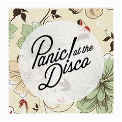Panic At The Disco Beautifull Floral Medium Glasses Cloth (2 Side) by Samandel