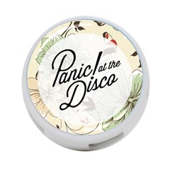 Panic At The Disco Beautifull Floral 4 Port Usb Hub (one Side) by Samandel