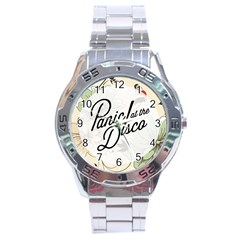 Panic At The Disco Beautifull Floral Stainless Steel Analogue Watch by Samandel