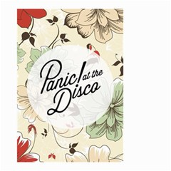 Panic At The Disco Beautifull Floral Small Garden Flag (two Sides) by Samandel