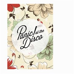Panic At The Disco Beautifull Floral Large Garden Flag (two Sides) by Samandel