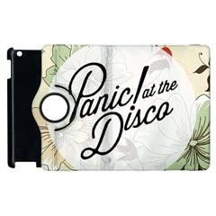 Panic At The Disco Beautifull Floral Apple Ipad 3/4 Flip 360 Case by Samandel