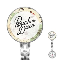 Panic At The Disco Beautifull Floral Stainless Steel Nurses Watch by Samandel