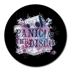 Panic At The Disco Art Round Mousepads