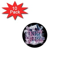 Panic At The Disco Art 1  Mini Buttons (10 Pack)  by Samandel