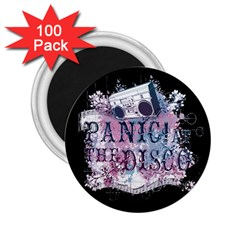 Panic At The Disco Art 2 25  Magnets (100 Pack)  by Samandel