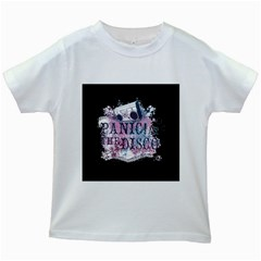 Panic At The Disco Art Kids White T Shirts by Samandel