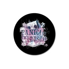 Panic At The Disco Art Magnet 3  (round)
