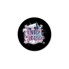 Panic At The Disco Art Golf Ball Marker by Samandel