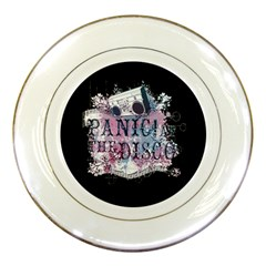Panic At The Disco Art Porcelain Plates by Samandel