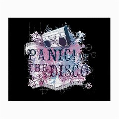 Panic At The Disco Art Small Glasses Cloth (2 Side)