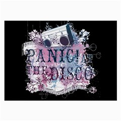 Panic At The Disco Art Large Glasses Cloth (2 Side) by Samandel