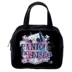 Panic At The Disco Art Classic Handbags (one Side) by Samandel
