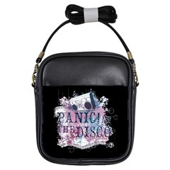 Panic At The Disco Art Girls Sling Bags by Samandel