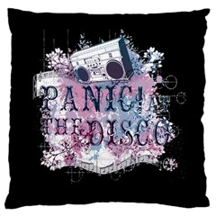 Panic At The Disco Art Large Cushion Case (one Side) by Samandel