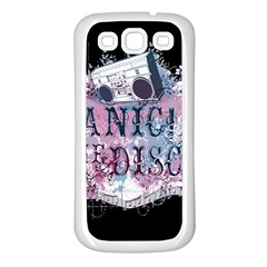 Panic At The Disco Art Samsung Galaxy S3 Back Case (white) by Samandel
