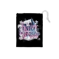 Panic At The Disco Art Drawstring Pouches (small)