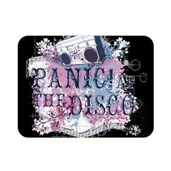 Panic At The Disco Art Double Sided Flano Blanket (mini)  by Samandel