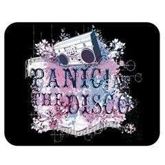 Panic At The Disco Art Double Sided Flano Blanket (medium)