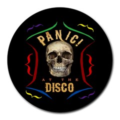 Panic At The Disco Poster Round Mousepads by Samandel