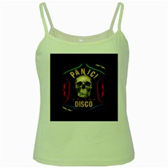 Panic At The Disco Poster Green Spaghetti Tank
