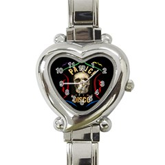 Panic At The Disco Poster Heart Italian Charm Watch by Samandel