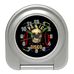 Panic At The Disco Poster Travel Alarm Clocks by Samandel