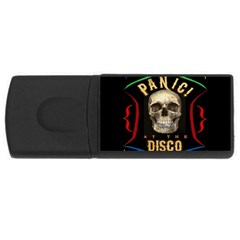 Panic At The Disco Poster Rectangular Usb Flash Drive by Samandel