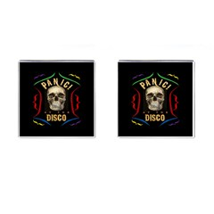 Panic At The Disco Poster Cufflinks (square) by Samandel