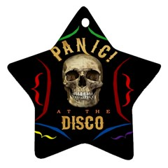 Panic At The Disco Poster Star Ornament (two Sides) by Samandel