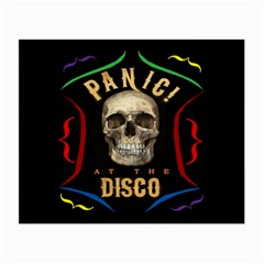 Panic At The Disco Poster Small Glasses Cloth (2 Side) by Samandel