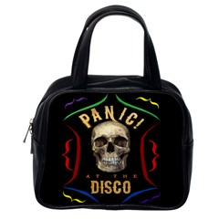 Panic At The Disco Poster Classic Handbags (one Side) by Samandel