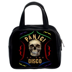 Panic At The Disco Poster Classic Handbags (2 Sides) by Samandel