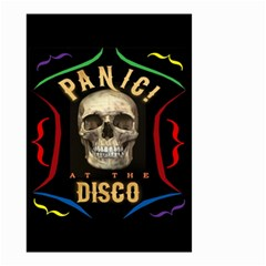 Panic At The Disco Poster Small Garden Flag (two Sides) by Samandel