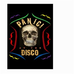 Panic At The Disco Poster Large Garden Flag (two Sides) by Samandel