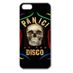 Panic At The Disco Poster Apple Seamless Iphone 5 Case (clear) by Samandel