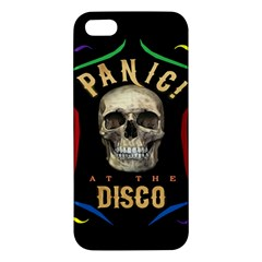 Panic At The Disco Poster Apple Iphone 5 Premium Hardshell Case by Samandel