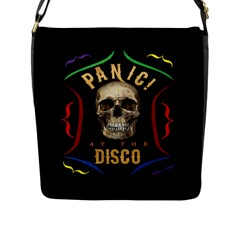 Panic At The Disco Poster Flap Messenger Bag (l)