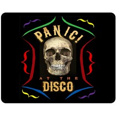Panic At The Disco Poster Double Sided Fleece Blanket (medium)  by Samandel