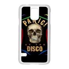 Panic At The Disco Poster Samsung Galaxy S5 Case (white) by Samandel