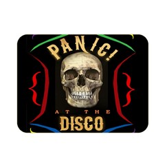 Panic At The Disco Poster Double Sided Flano Blanket (mini)  by Samandel