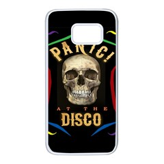 Panic At The Disco Poster Samsung Galaxy S7 White Seamless Case